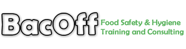 BacOff Food Handler Certification Courses accredited by Toronto Public Health